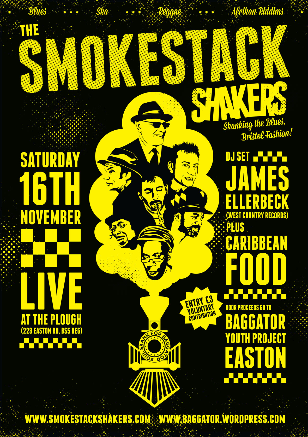 Party time with the Smokestack Shakers at the Plough!